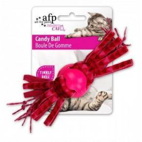 Juguete MODERN CAT  Bola Candy 17 Cm-ROSA