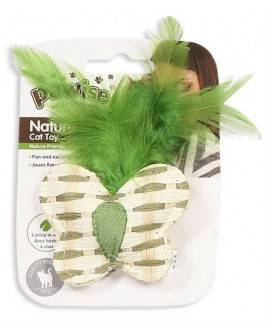 Nature First Gatos Pawise Mariposa Papel 11 Cm