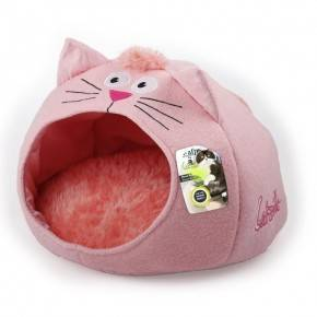 ALL FOR PAWS CAMA MEOW CATZILLA PARA GATOS ROSA