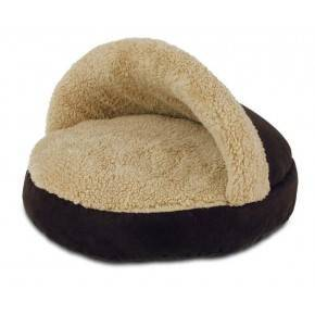 ALL FOR PAWS CAMA COZY SNUGGLE  LAMB CAT  MARRON.