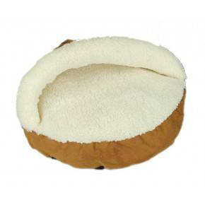 ALL FOR PAWS CAMA COZY SNUGGLE  LAMB CAT   BEIGE