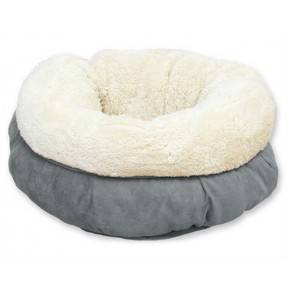 ALL FOS PAWS CAMA DONUT LAM CAT GRIS