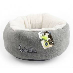 ALL FOR PAWS CAMA MELLOW CATZILLA . GRIS