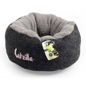 ALL FOR PAWS CAMA MELLOW CATZILLA . NEGRO