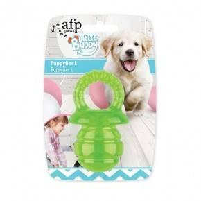 Juguete cachorro LITTLE BUDDY  Chupete Verde L 13 cm