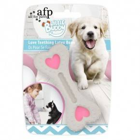 Juguete cachorro LITTLE BUDDY  Hueso Rosa L 12 cm