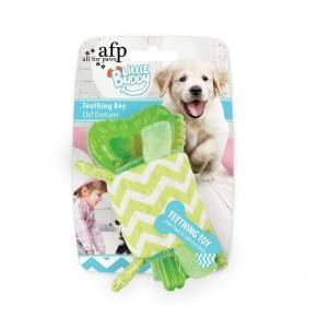Juguete cachorro LITTLE BUDDY  Llave Verde 15 Cm.
