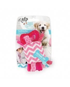 Juguete. cachorro LITTLE BUDDY  Llave Rosa 20 Cm
