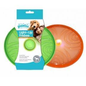 Juguete TPR Flash Pawise-Frisbee 20 cm