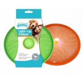 Juguete TPR Flash Pawise-Frisbee 20 cm