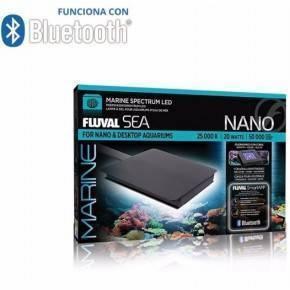 PANTALLAS DE ILUMINACIÓN BLUETOOTH FLUVAL SEA MARINE SPECTRUM 3.0 - NANO-