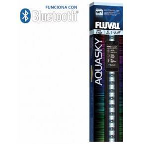 PANTALLAS DE ILUMINACIÓN BLUETOOTH FLUVAL AQUASKY LED  16 W 53-83 CM