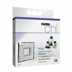 FLUVAL CHI II CARGA DE CARBON  3 PC.