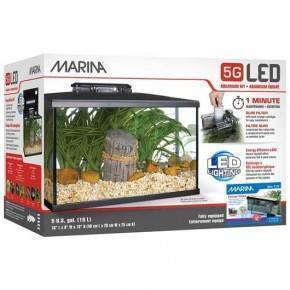 MARINA LED KIT ACUARIO 5G 20 LITROS.