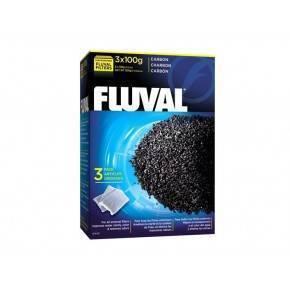 FLUVAL CARBÓN  300 GRS 3 X 100