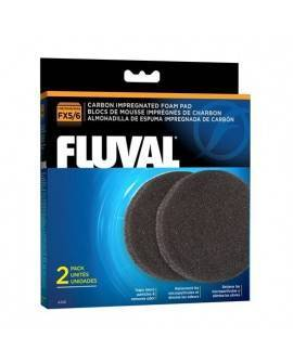 FLUVAL FX5/6 FOAMEX/CARBON 3 PC LARGO USO
