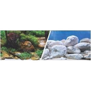 MARINA 3D Jardin Acuatico/Piedras 30, 5 cm X 7,6 M