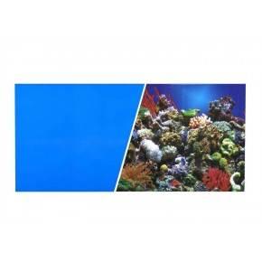 MARINA  FONDO Azul/Coral 45 cmX7,6 m