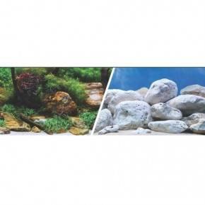 MARINA 3D Jardin Acuatico/Piedras 61 cm X 7,6 M