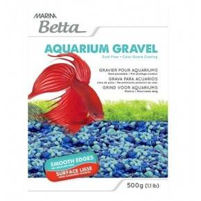 GRAVA PARA BETTA COLOR 500G MARINA