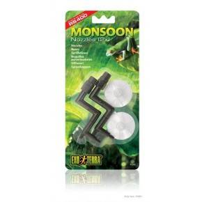 EXO TERRA Monsoon Pack 2 Boquillas Salida/Ventosa