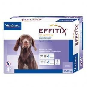 EFFITIX  PIPETAS®-PERROS 10 A 20 KG.