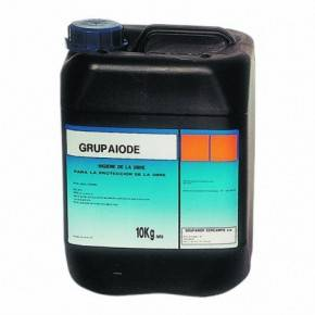 Grupaiode líquido  10 L.