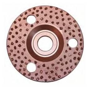 Disco abrasivo tipo lija, de 115 mmØ.
