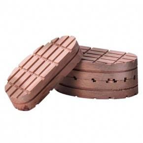 Taco madera tratamiento cascos