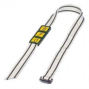 Collar de nylon de 120 cm y 4 cm de ancho.