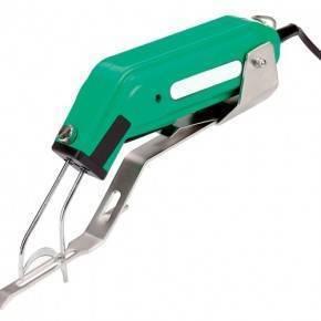 Cortacolas eléctrico con soporte manual