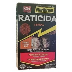 QM Bromadiolona Cebo Fresco Raticida-Ratonicida-Estuche de 150 gr.