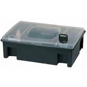 Caja para cebo Tom - Medidas: 29,40 x 21,60 x 10,60 cm.