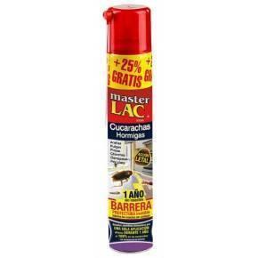 Master lac hogar aerosol-Laca hogar aerosol .Contra cucarachas-600 ml.