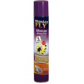 Masterfly moscas mosquitos-Aerosol 750 ml.