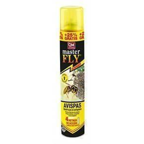 Masterfly avispas  Laca contra avistas y avispones.  Aerosol 600 ml.