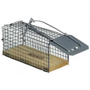 Jaula para ratones. Medidas: 11,5x5x6 cm