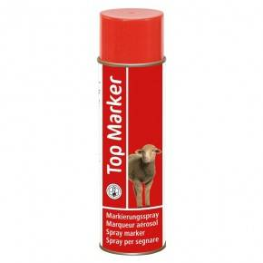 Aerosol Top Marker, 500 ml .Rojo