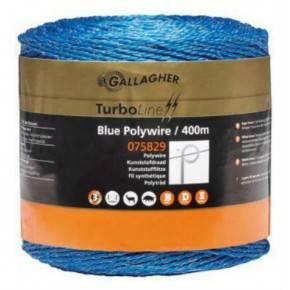 Cordón nylon Azul, rollo de 400 m.
