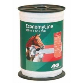 Economy Line Cinta blanca de 200 m