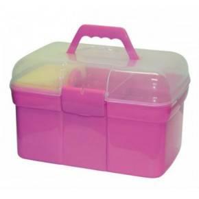 Cofre de aseo para caballos. Color Rosa
