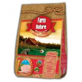 PUPPY  FARM  NATURE .2,5 KG. PAVO, POLLO  Y ARROZ - GAMA PREMIUM