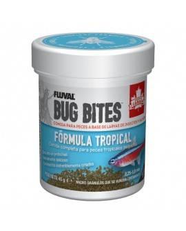 FLUVAL BUG BITES GRÁNULOS FÓRMULA TROPICAL - 45 G. 0,6-1,2 MM.