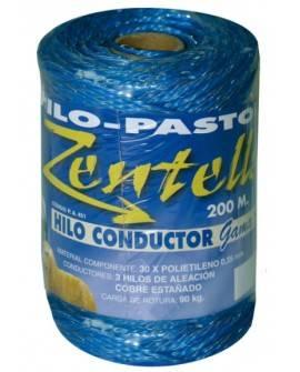 PASTOR - HILO CONDUCTOR AZUL 3 HILOS (200 M)