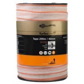 Gallagher Tape de 40 mm de ancho. Rollo 100 m.
