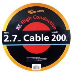 Cable doble aislado de 2,7 mm (rollo 200 m)-GALLAGHER