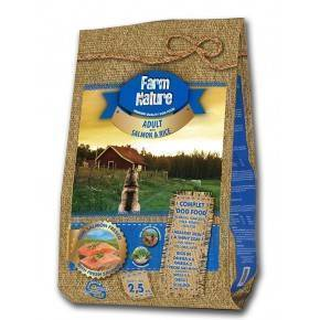 FARM  NATURE  ADULTO. 2,5  KG. SALMON Y ARROZ-GAMA PREMIUM