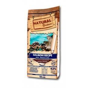 SALMON RECIPE-RECETA DE SALMON–12 KG. ADULT MEDIUM & LARGE.